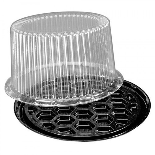 "D&W - G27 - 9"" 2-3 Layers Cake Dome Combo 100/Case"