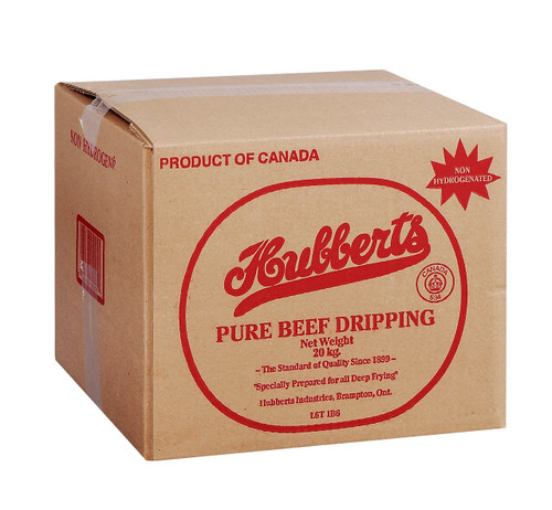 Hubberts Beef Dripping Cube 20kg
