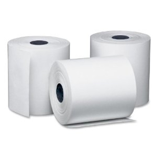 "Amber - T75-180-55  - Thermal Paper Rolls 3""X3"" 50/Case"