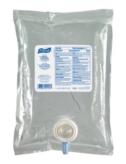 Gojo Purell - 2156-08-CAN00 - Gel Hand Sanitizer NXT Refills - 4x1000ml/Case