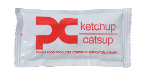 Wing's - Food Ketchup Portion 9g x 500