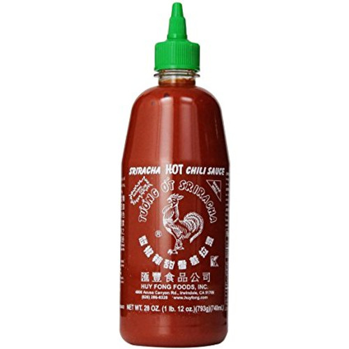 Hu Fong Sriracha Chili Sauce 12X740ml (28 oz)