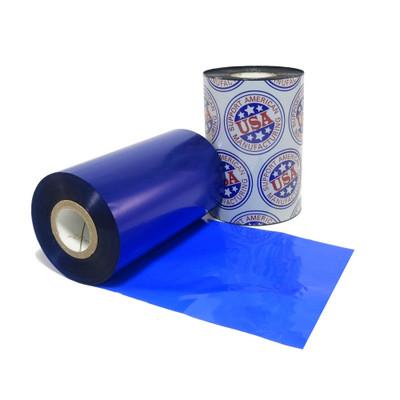 "Wax Ribbon: 2.00"" x 984' (50.8mm x 300m), Ink on Outside, Blue, $9.17 per roll"