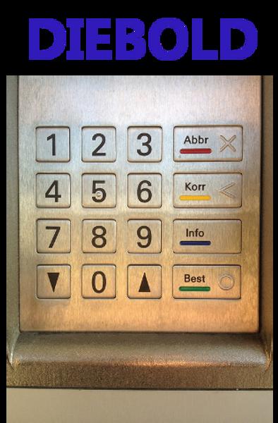 Receipt rolls for Diebold ATM 1064I Series 51009B