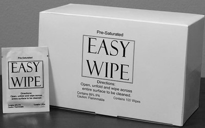 Thermal Printer EZ Wipe Saturated with IPA Cleaning Solution