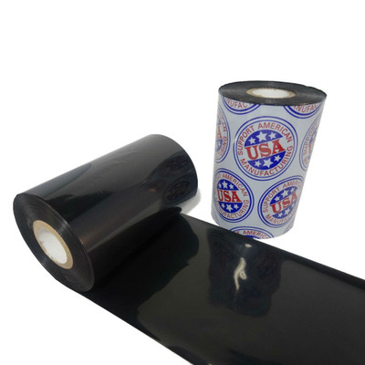 """Wax Resin Ribbon: 2.52"""" x 1,181' (64.0mm x 360m), Ink on Inside, General Use"""