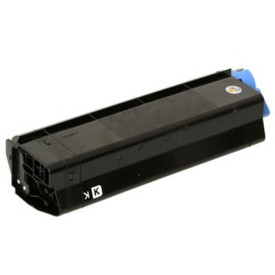 Black Toner for Okidata C5100, C5150, C5200, C5300, C5400, C5450, C5510 MP, ES1220 & ES1624 Laser Printer
