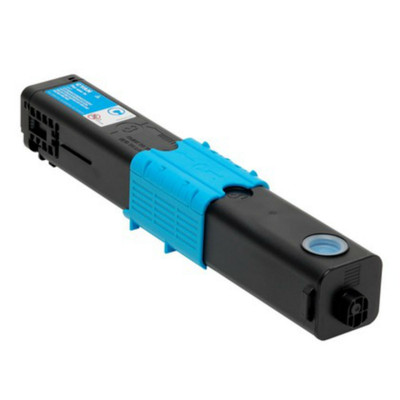 Cyan Toner for Okidata C3300, C3400, C3530 & C3600 Laser Printer