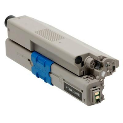 Black Toner for Okidata C3300, C3400, C3530 & C3600 Laser Printer
