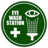 Eye Wash Station Floor Sign
