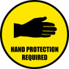 Hand Protection Required Sign : PPE