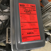 LabelTac Adhesive Red Tags on equipment