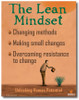 The Lean Mindset Poster