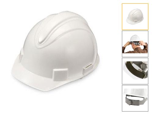 Standard Heavy Duty Hard Hats White