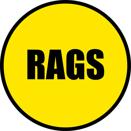 RAGS Custom Safety Floor Sign