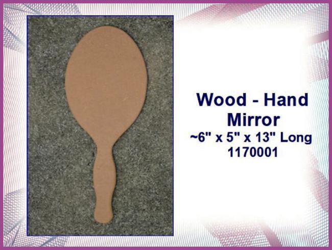 Wood - Mirror   (1170001)