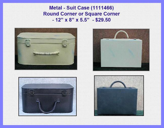 Metal - Suit Case - Round Corner or Square Corner (1111466)