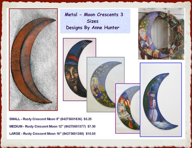 Crescent Moon - 3 Sizes