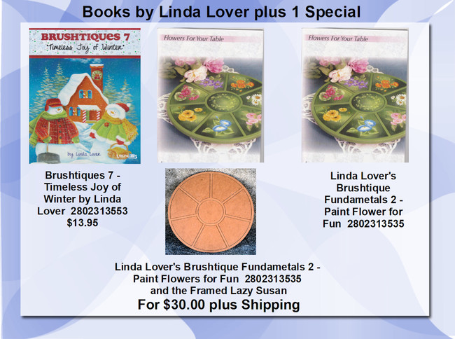 Books - Linda Lover (2802313519, 2802313535, 2802313553)