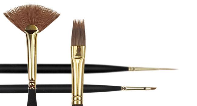 Brushes - Princeton 3050 Decorative MinatureSynthetic Sable Brushes