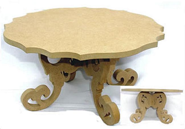 Fancy  Cake Plate Table (1612900)