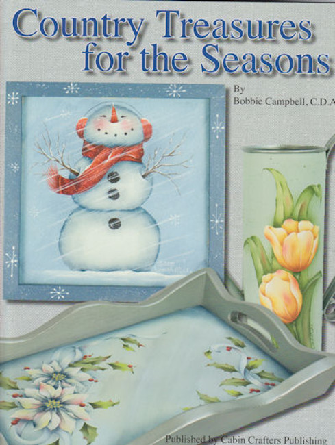 Book - Country Treasures for the Seasons by Bobbie Campbell (9685911410)