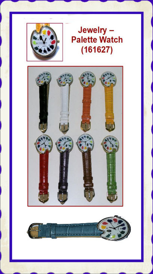 Jewelry - Watch, Palette - New Colors(161627)
