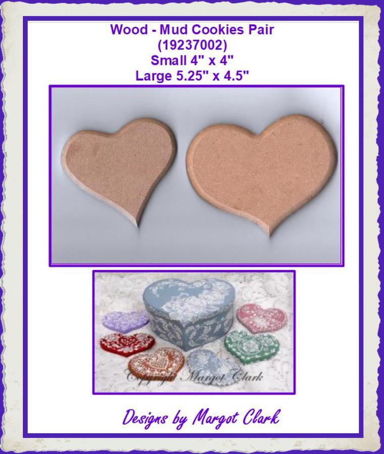 Wood - Mud Cookies Pair (19237002)