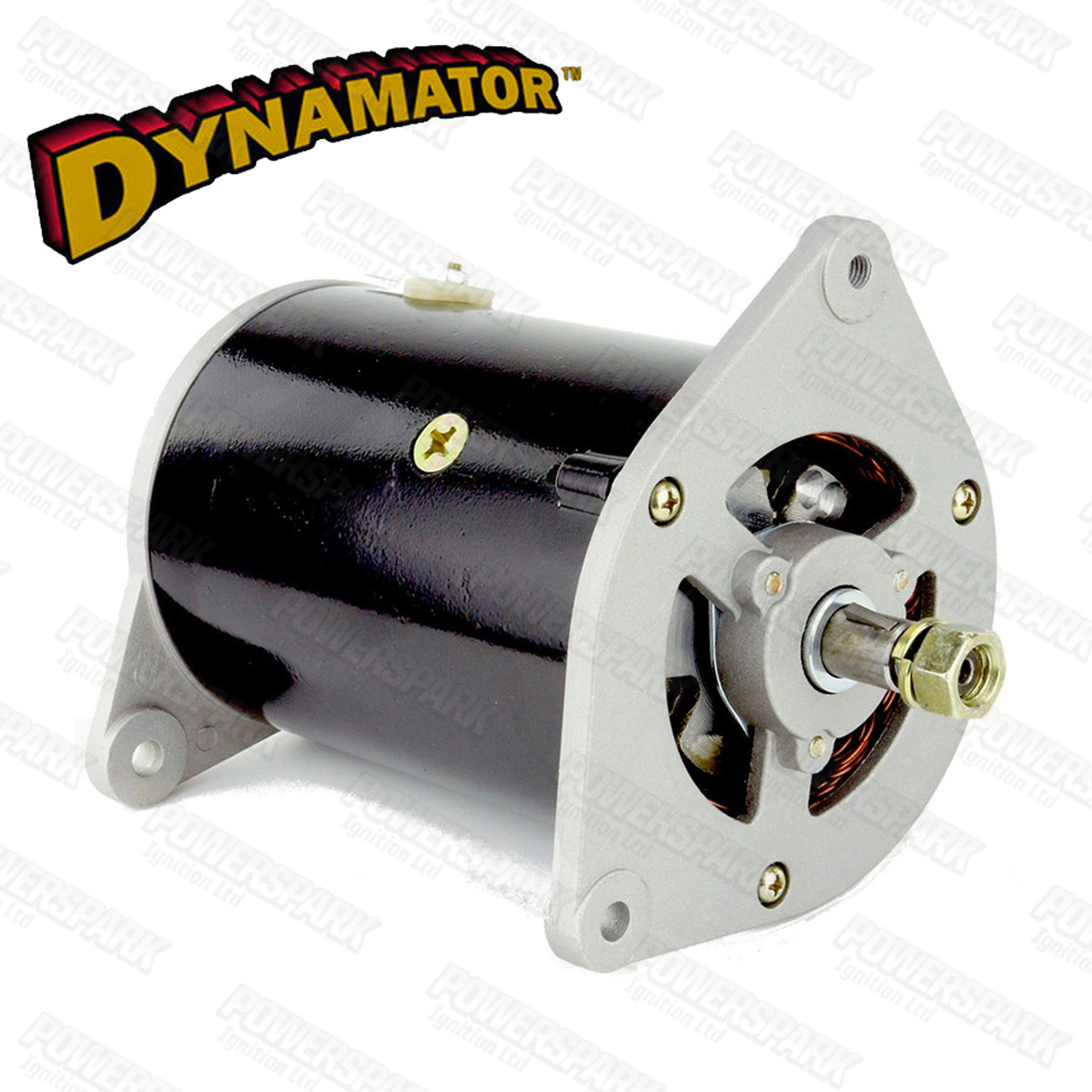 Stealth Dynamator - Dynamo to Alternator Conversion replaces Lucas C39 & C40 Dynamo - Pos Earth with Tacho