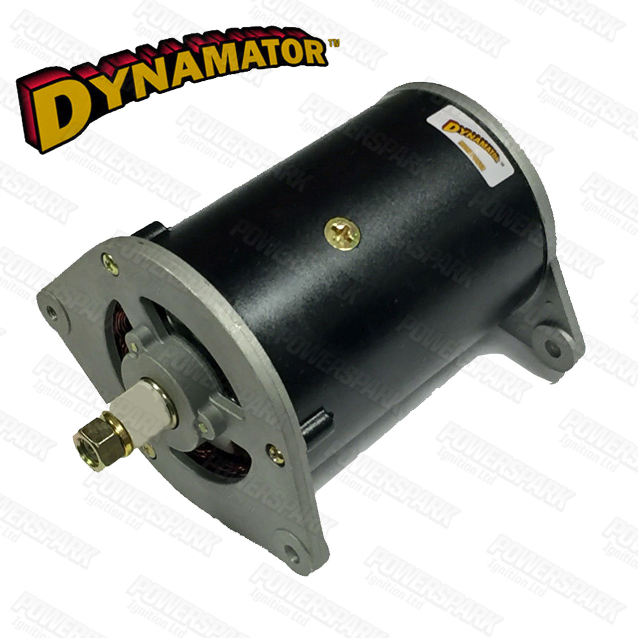 Stealth Dynamator - Dynamo to Alternator Conversion replaces Lucas C42 Dynamo - Pos Earth