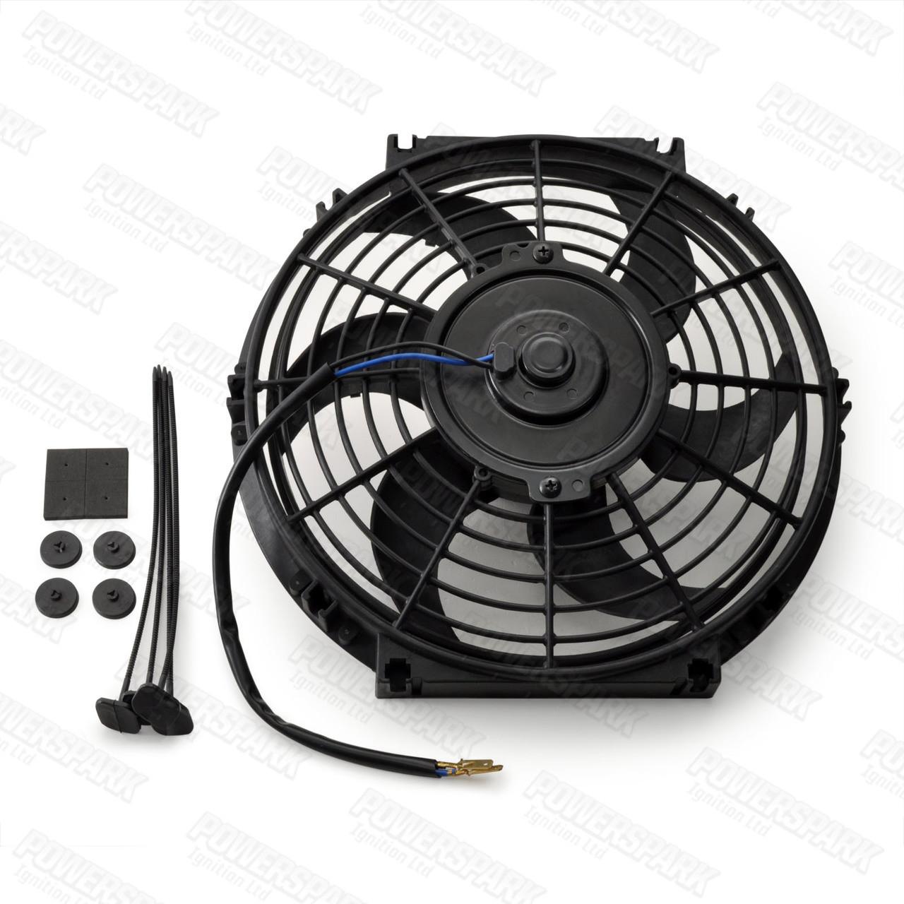 "10"" Powermax Electric Radiator Cooling Fan 120W 12 Volt"