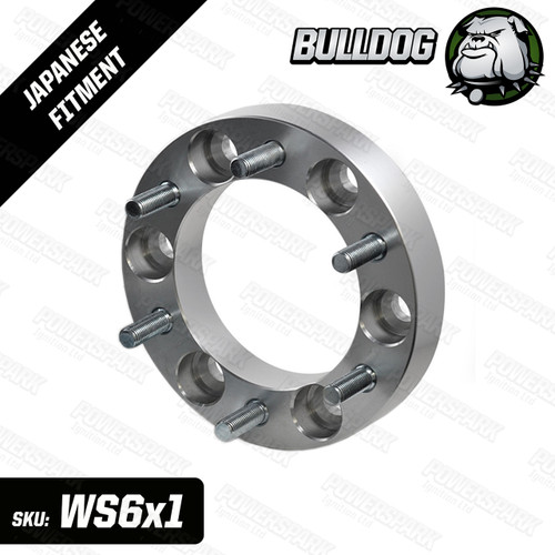 1 Single Bulldog 30mm Wheel Spacer To Fit 6 Stud Toyota, Mitsubishi, Isuzu, Ford, Vauxhall 4x4 Vehicles