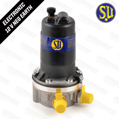 Genuine SU AUA25 Electronic Fuel Pump Negative Earth 12 volt 1.5 psi