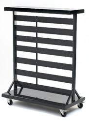 Double sided mobile bin rack GSGILR2Y