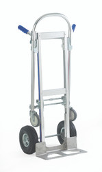 Aluminium two way truck shown as sack truck GSGI805P