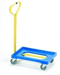 Plastic dolly with handle GSPDT63S