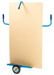 Board trolley GSGIC96Y shown loaded with board