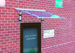 shield acrylic door canopies