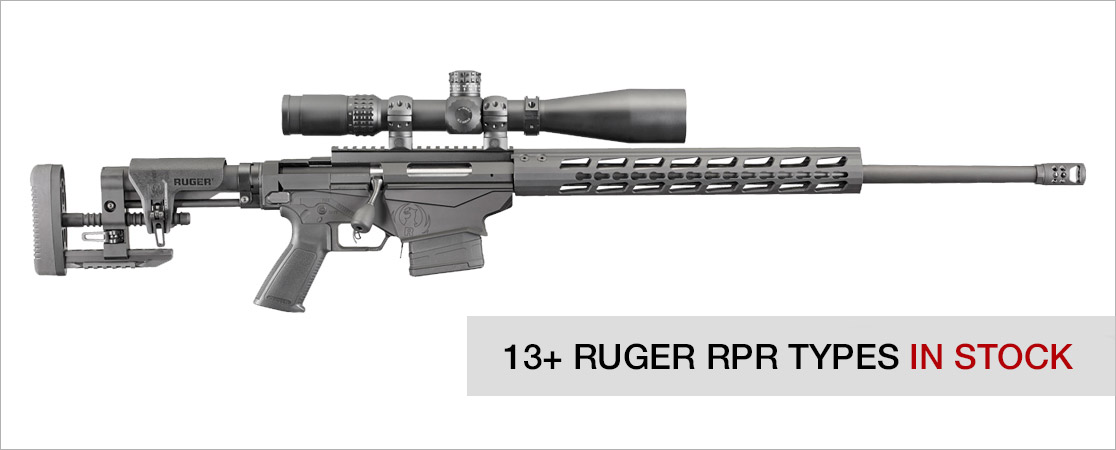 We stock a wide range of Ruger Precision Rifle magazines