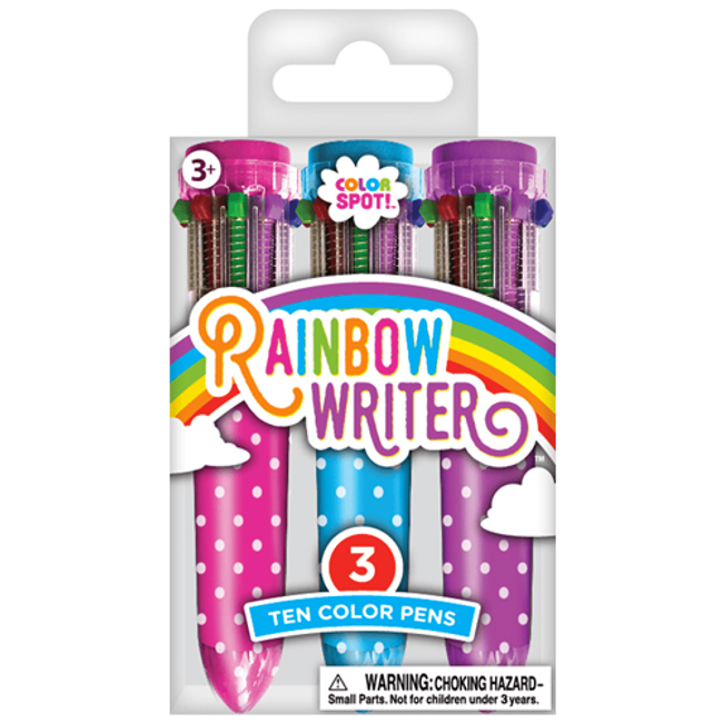 Color Spot Mini Rainbow Writers - Rainbow Pens - 3 Count