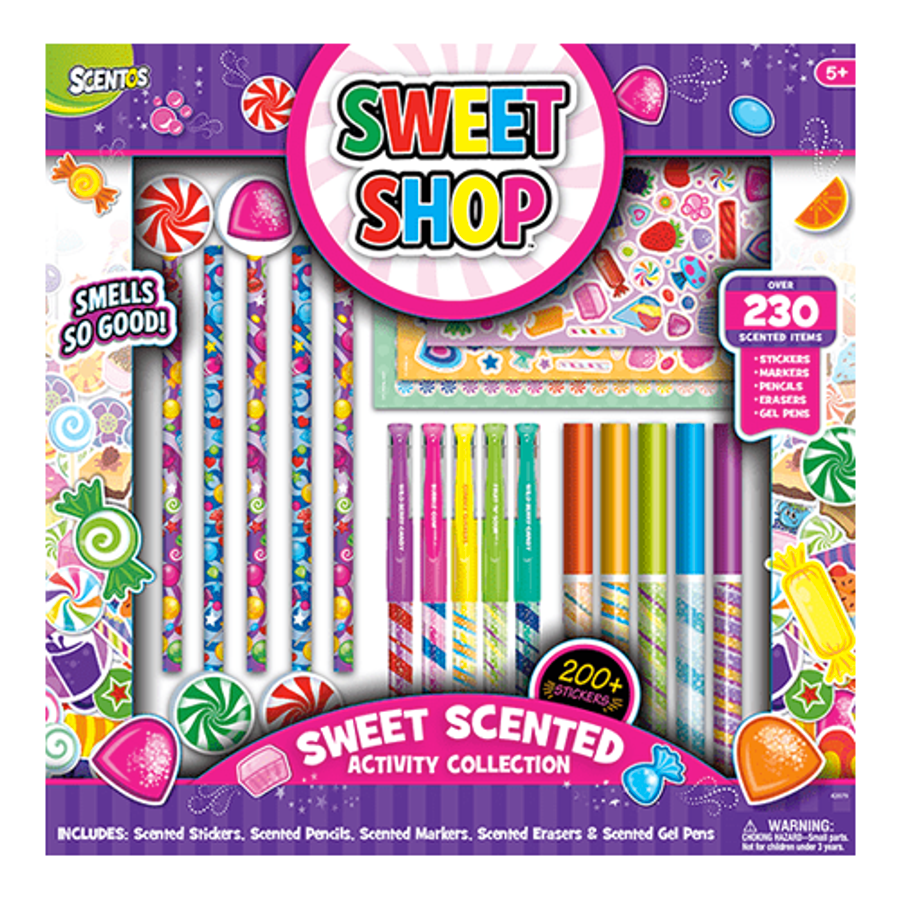 Sweet Shop Sweet Scented Activity Collection - 230 Count