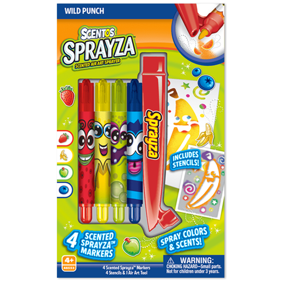 Scentos SprayZa Scented Airbrush Art Kit