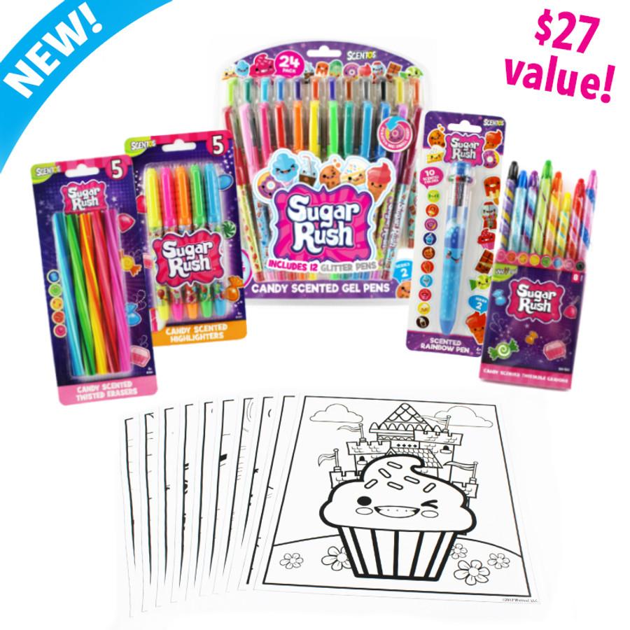 Sugar Rush Coloring Bundle