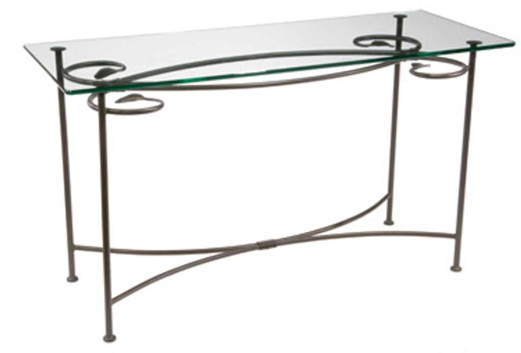 Leaf Console - Iron Sofa Table