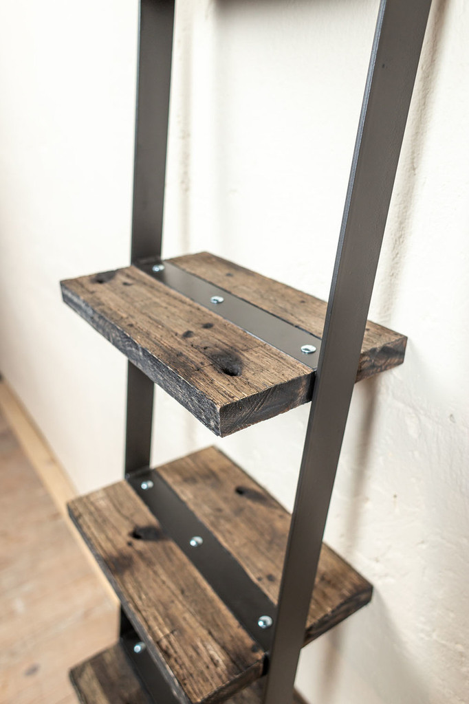 Urban Forge Narrow Ladder Wall Shelf