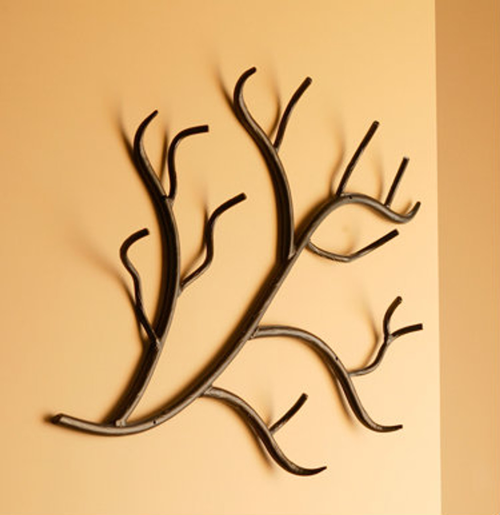 Woodland Iron Wall Rack