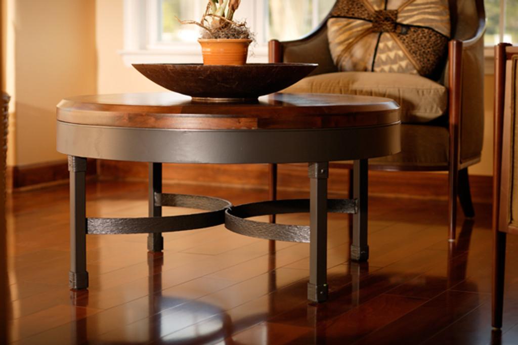 Cedarvale Iron Coffee Table 36 inch