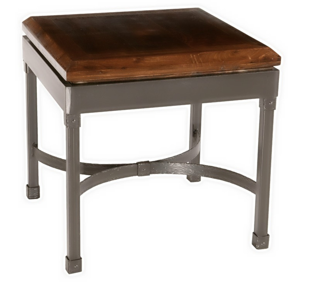 Cedarvale Iron Side Table