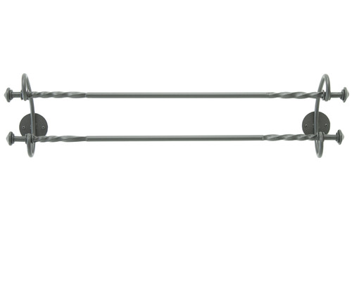 """French Country Double Towel Bar  32"""""""