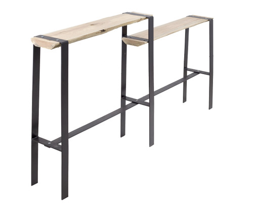 Urban Forge Console Table Split Level